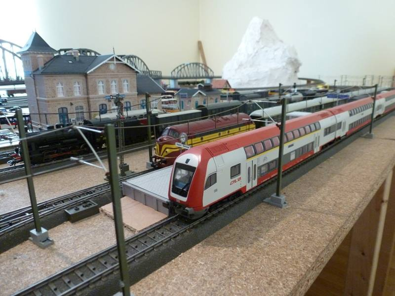Réseau Märklin H0 (inspired by CFL) 0910