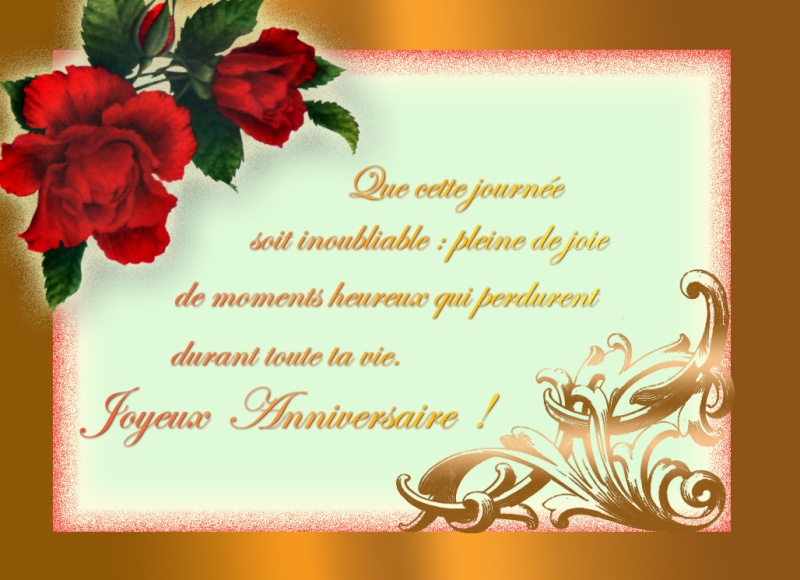 Joyeux Anniversaire Jean Pierre