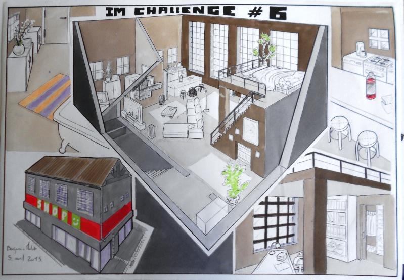 IM Challenge #6 : Intérieurs Imch610
