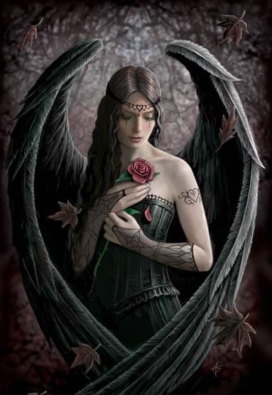 Anne stokes. Angel_10