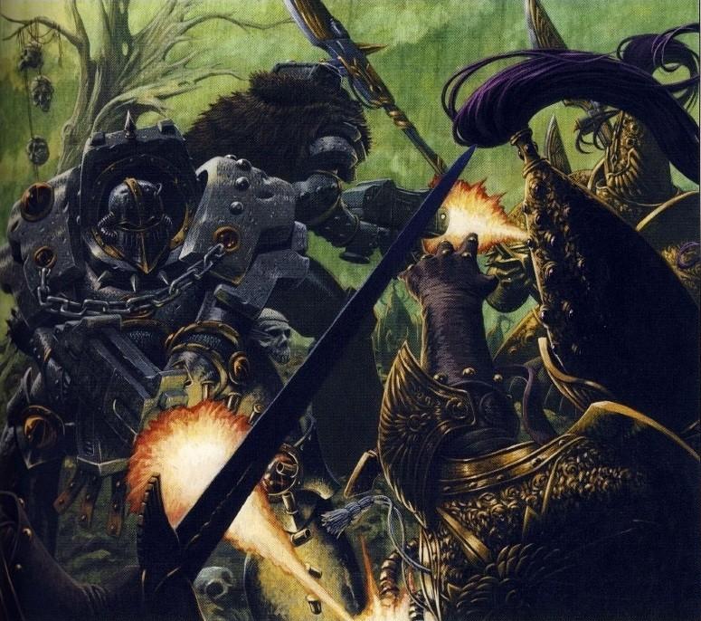 [W30K] Legiones Astartes XVI : Luna Wolves / Sons of Horus Justae10