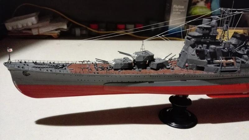 Japanese Navy Heavy Cruiser Takao 1942 Updated Edition a 1/350 de Aoshima Img_2012