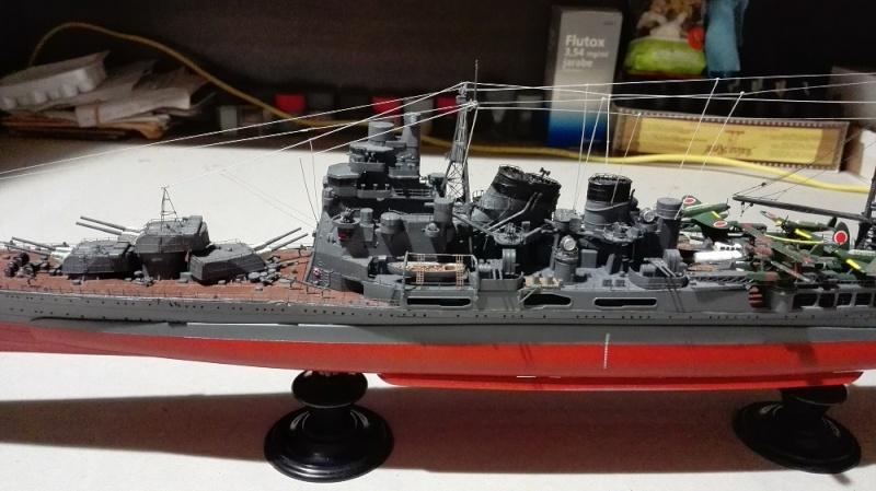 Japanese Navy Heavy Cruiser Takao 1942 Updated Edition a 1/350 de Aoshima Img_2013
