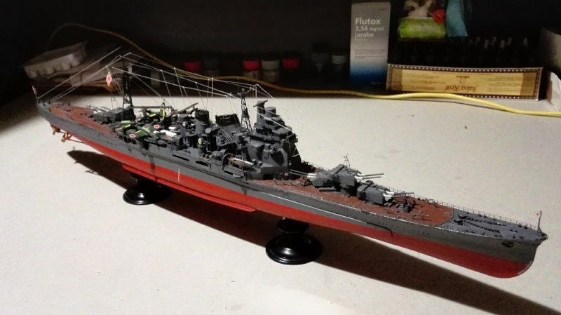 Japanese Navy Heavy Cruiser Takao 1942 Updated Edition a 1/350 de Aoshima Img_2016