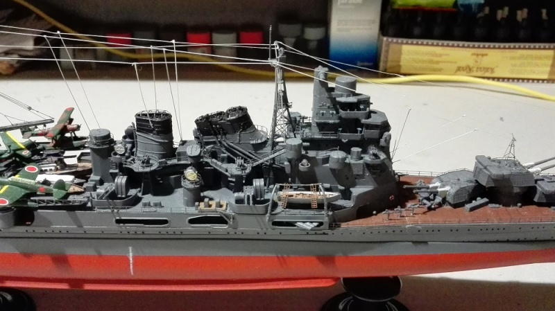Japanese Navy Heavy Cruiser Takao 1942 Updated Edition a 1/350 de Aoshima Img_2018