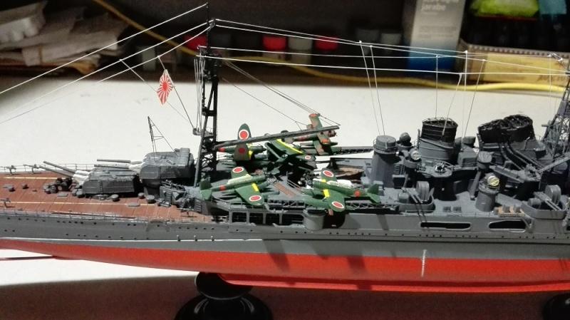 Japanese Navy Heavy Cruiser Takao 1942 Updated Edition a 1/350 de Aoshima Img_2019
