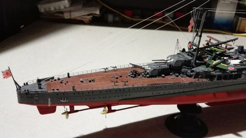 Japanese Navy Heavy Cruiser Takao 1942 Updated Edition a 1/350 de Aoshima Img_2020
