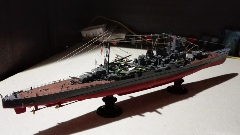 Japanese Navy Heavy Cruiser Takao 1942 Updated Edition a 1/350 de Aoshima Img_2025