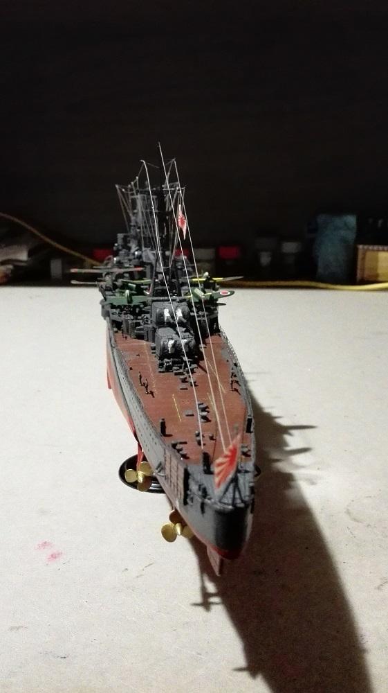 Japanese Navy Heavy Cruiser Takao 1942 Updated Edition a 1/350 de Aoshima Img_2026