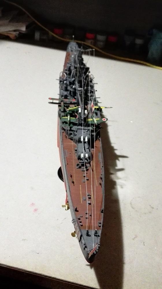 Japanese Navy Heavy Cruiser Takao 1942 Updated Edition a 1/350 de Aoshima Img_2027