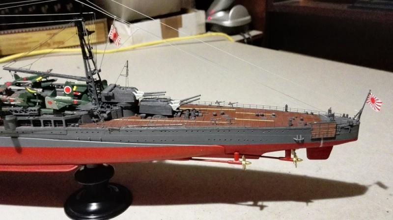 Japanese Navy Heavy Cruiser Takao 1942 Updated Edition a 1/350 de Aoshima Img_2028