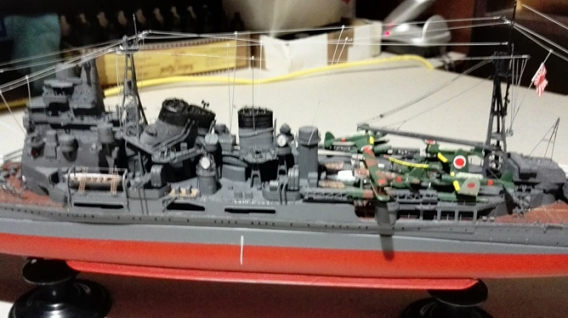 Japanese Navy Heavy Cruiser Takao 1942 Updated Edition a 1/350 de Aoshima Img_2029