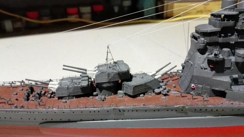 Japanese Navy Heavy Cruiser Takao 1942 Updated Edition a 1/350 de Aoshima Img_2031