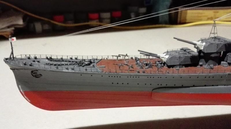 Japanese Navy Heavy Cruiser Takao 1942 Updated Edition a 1/350 de Aoshima Img_2032
