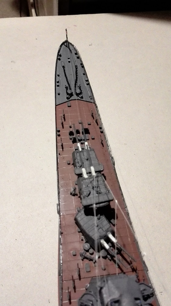 Japanese Navy Heavy Cruiser Takao 1942 Updated Edition a 1/350 de Aoshima Img_2033