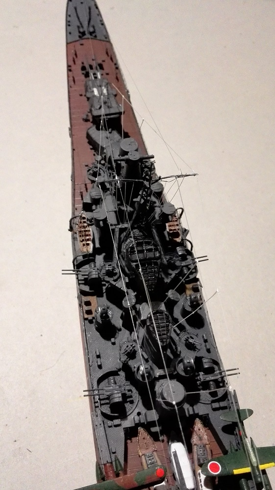 Japanese Navy Heavy Cruiser Takao 1942 Updated Edition a 1/350 de Aoshima Img_2034