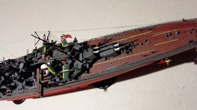 Japanese Navy Heavy Cruiser Takao 1942 Updated Edition a 1/350 de Aoshima Img_2037