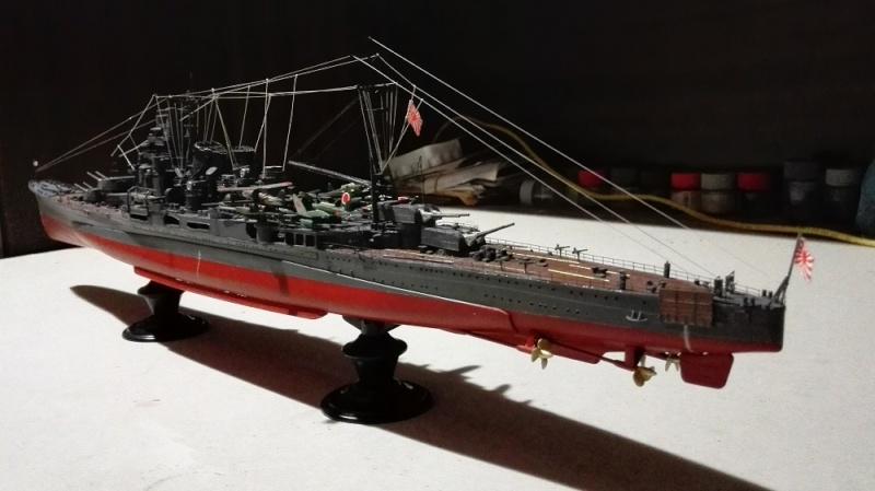Japanese Navy Heavy Cruiser Takao 1942 Updated Edition a 1/350 de Aoshima Img_2039