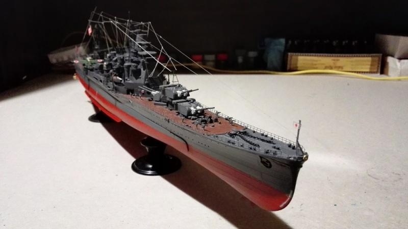 Japanese Navy Heavy Cruiser Takao 1942 Updated Edition a 1/350 de Aoshima Img_2041