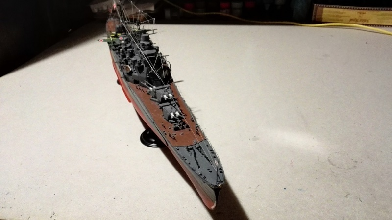 Japanese Navy Heavy Cruiser Takao 1942 Updated Edition a 1/350 de Aoshima Img_2042