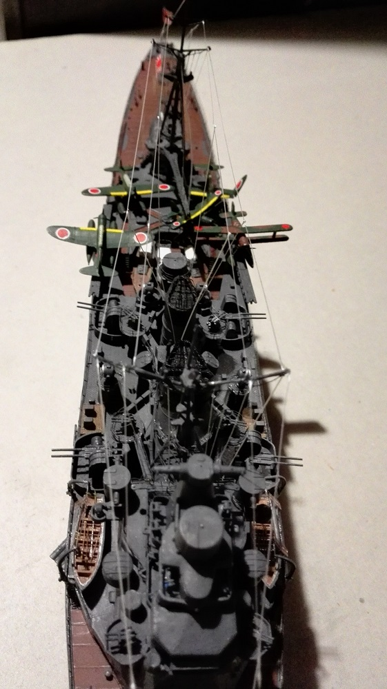 Japanese Navy Heavy Cruiser Takao 1942 Updated Edition a 1/350 de Aoshima Img_2044