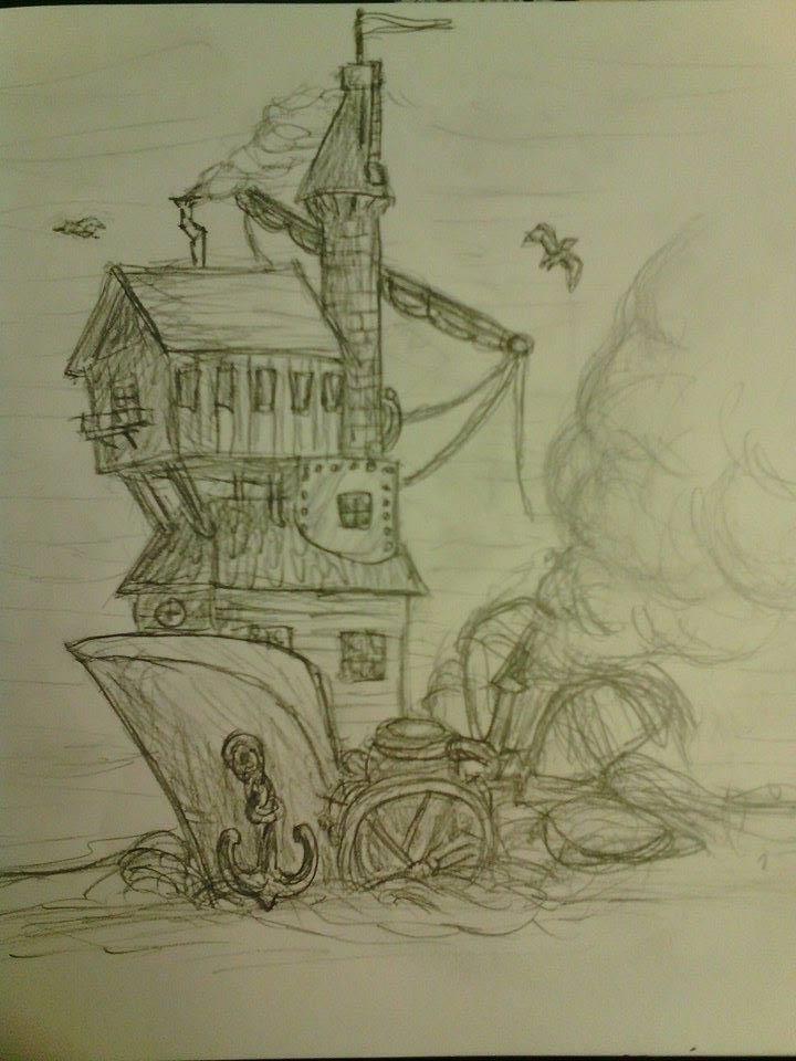 Maison-Bateau Steampunk Maison10