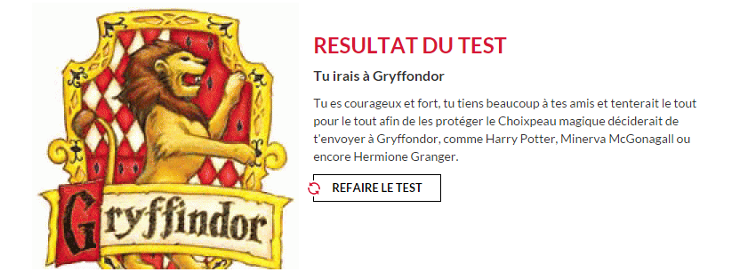 Maison et Patronus - Test Harry Potter. Captur10
