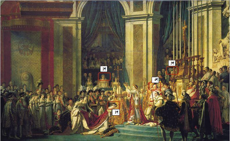 Petites histoires Napoléoniennes  Sacre10