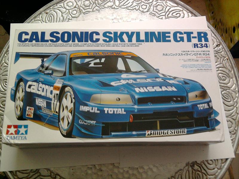 Calsonic Skyline GT-R, Tamiya  1:24 01_10