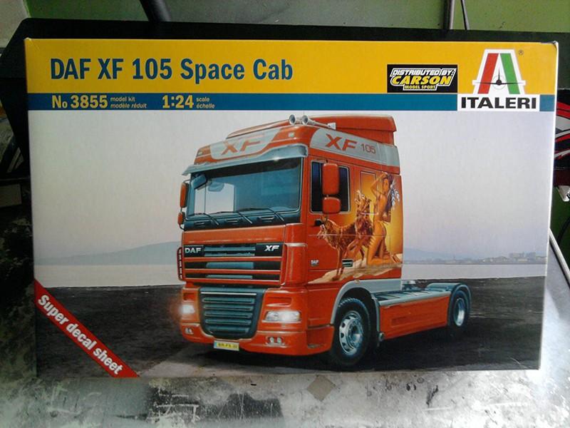 DAF XF-105 Space Cab, Italeri 1:24 01_12