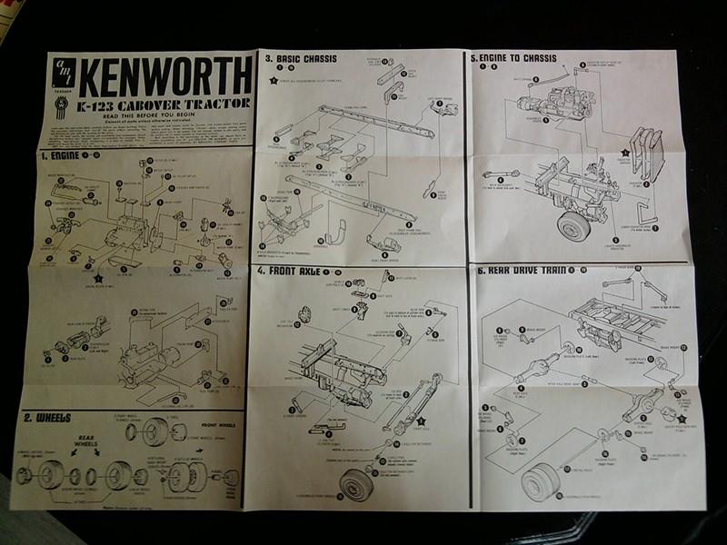 Kenworth K-123 Cabover, AMT 1:25 02_12