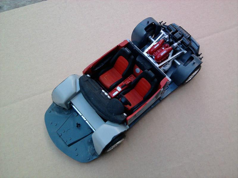 Revell Ferrari F-430 Spider 1:24 13_12