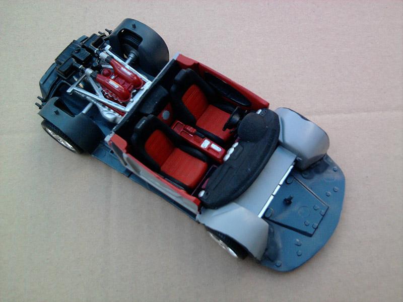 Revell Ferrari F-430 Spider 1:24 15_12
