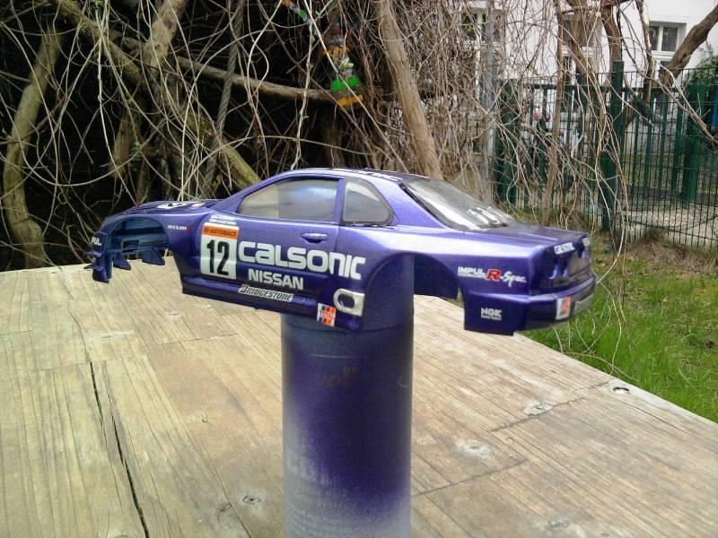 Calsonic Skyline GT-R, Tamiya  1:24 16_12