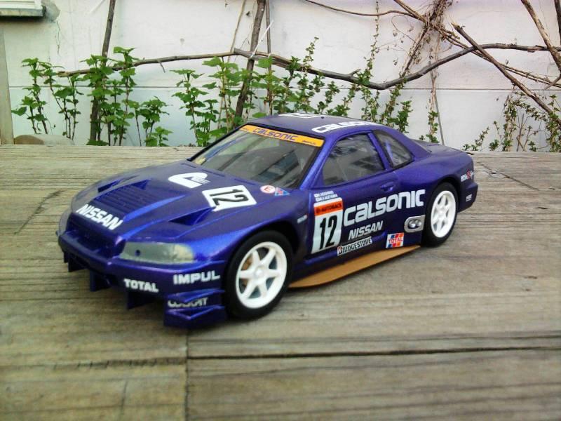 Calsonic Skyline GT-R, Tamiya  1:24 25_11
