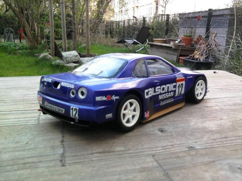 Calsonic Skyline GT-R, Tamiya  1:24 27_10