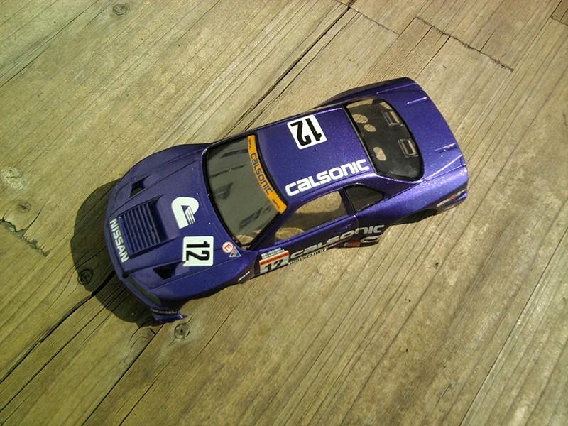 Calsonic Skyline GT-R, Tamiya  1:24 Foto4212