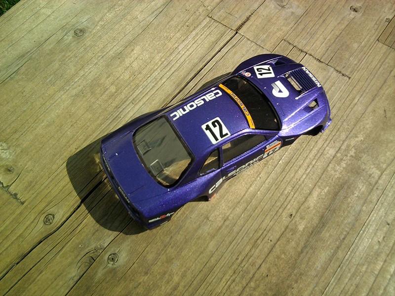 Calsonic Skyline GT-R, Tamiya  1:24 Foto4213