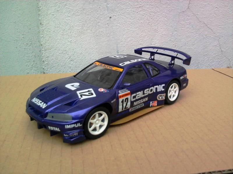 Calsonic Skyline GT-R, Tamiya  1:24 Foto4310