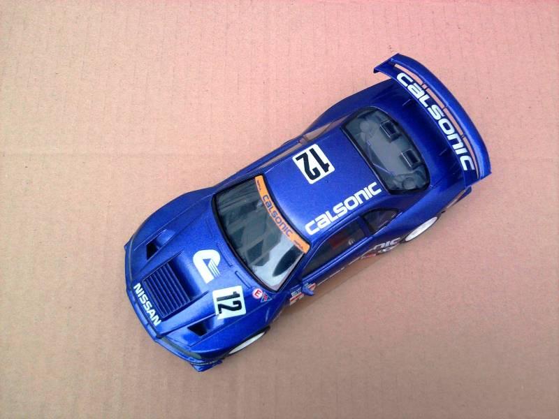 Calsonic Skyline GT-R, Tamiya  1:24 Foto4311