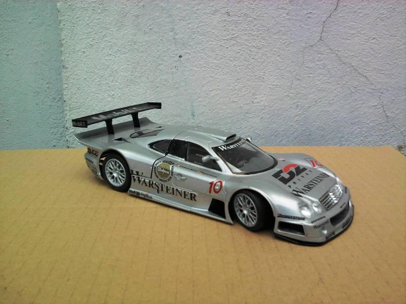 Tamiya Mercedes CLK-GTR 1:24 Foto4415