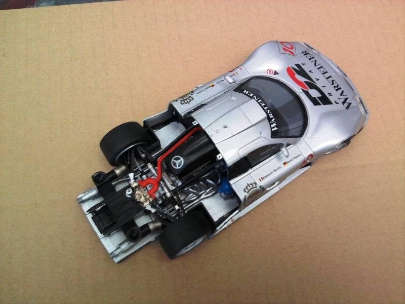 Tamiya Mercedes CLK-GTR 1:24 Foto4416