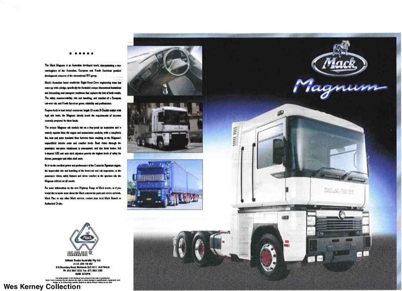MACK Magnum und Scania Semi Truck Mack_m10