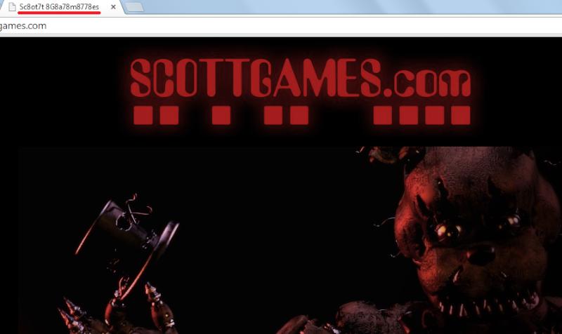 ¿Que crees que significa el titulo de la pagina de Scott? FNAF 4 Sctgms10