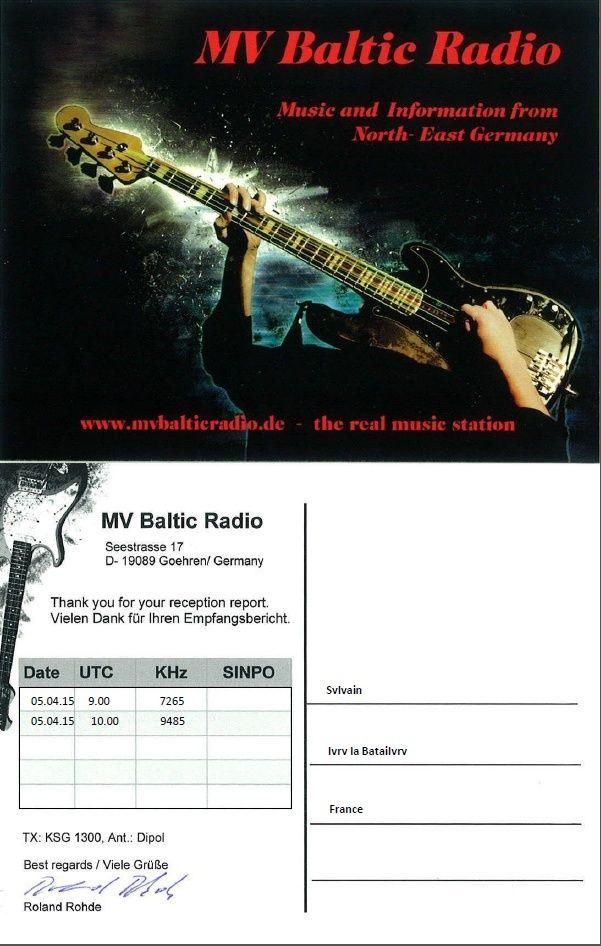 eQSL de MV Baltic Radio Mv_bal11