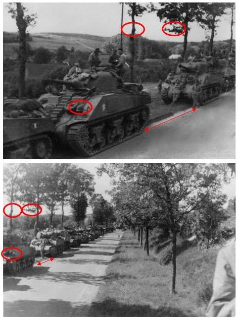 La 2/501 en route vers Châtel (sept. 1944) Philip10