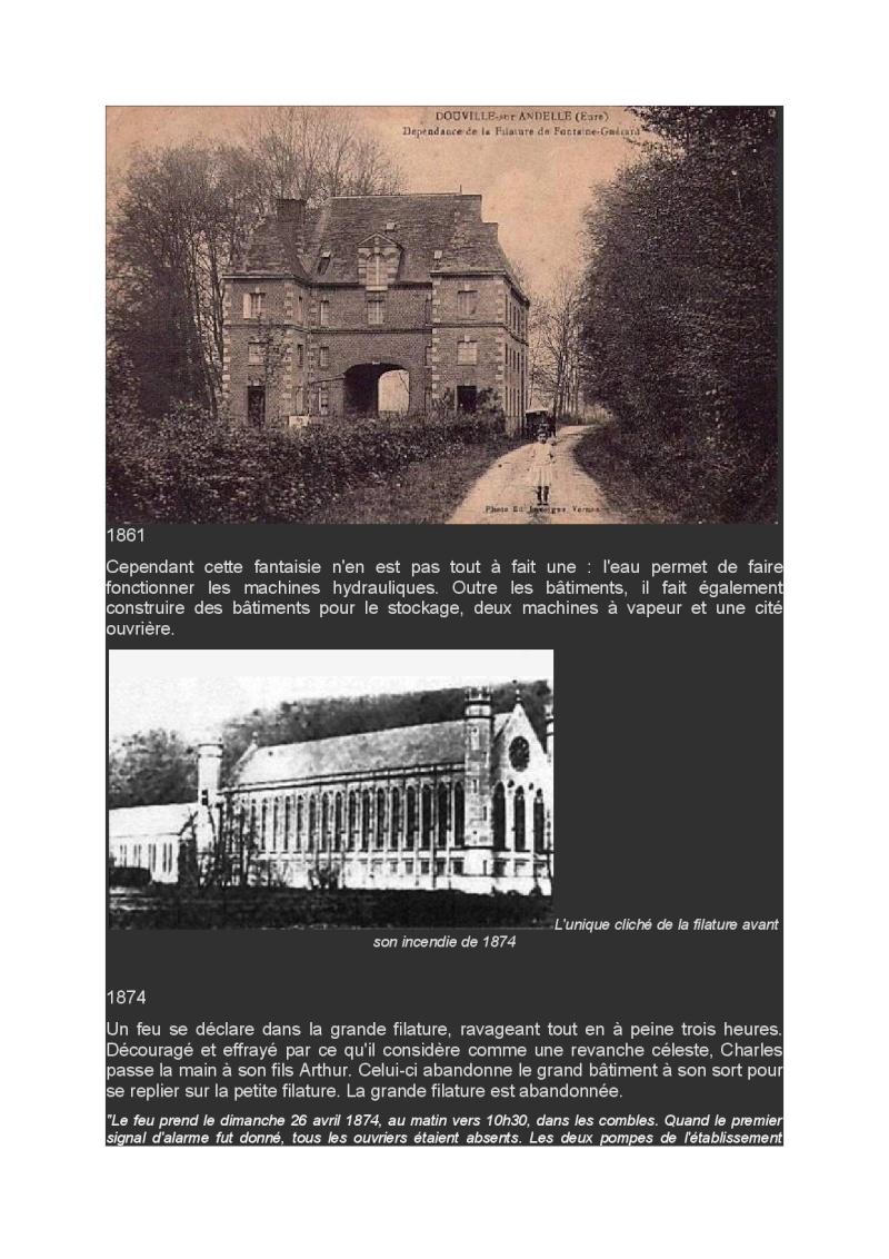Lundi 30 Mars en passant par l'abbaye Fontaine Guérard et les filatures Abbaye13