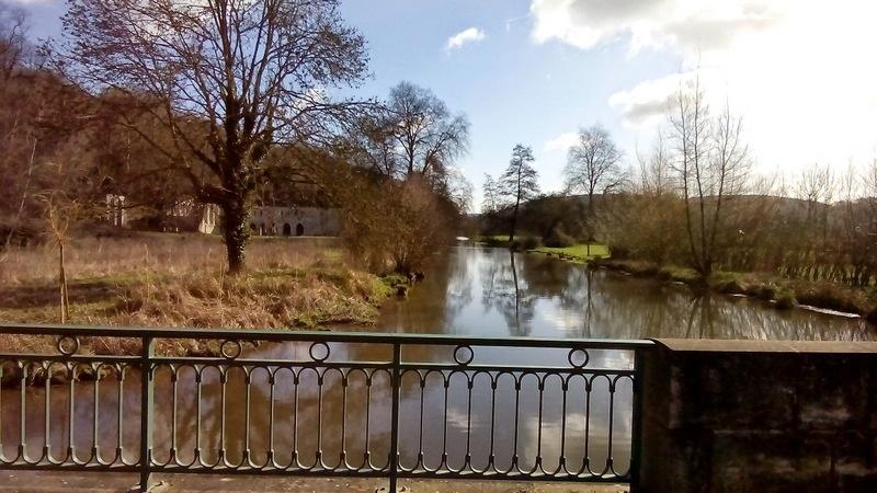 Lundi 30 Mars en passant par l'abbaye Fontaine Guérard et les filatures Cardon12