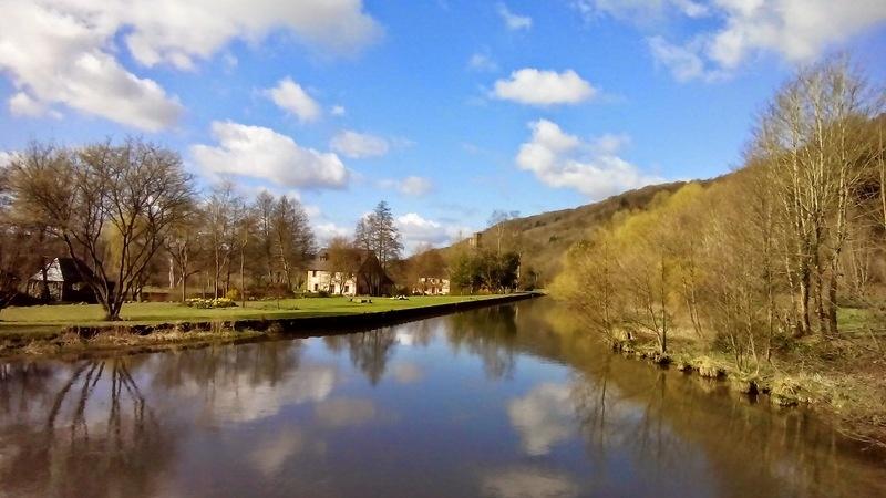 Lundi 30 Mars en passant par l'abbaye Fontaine Guérard et les filatures Cardon13
