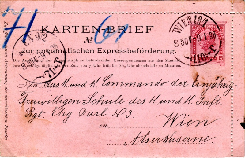 Rohrpost-Kartenbrief Ausgabe 1897 Img41610
